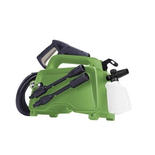 Martha Stewart MTS-1450PW Electric Hand-Carry Portable Pressure Washer & 13.5 oz Soap Foam Cannon - 1450 PSI - 1.48 GPM - 11-Amp