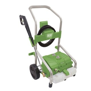 Martha Stewart MTS-2030PW Electric Roll Cage Trolley Pressure Washer & 54.1 oz Detergent Tank - 2030 PSI - 1.76 GPM - 14.5 Amp