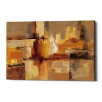 "Epic Graffiti ""Sandcastles"" by Silvia Vassileva, Giclee Canvas Wall Art, 12""x18"""