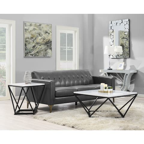 Picket House Furnishings Conner 2PC Occasional Table Set-Coffee Table & End Table