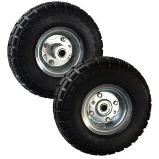 Buffalo Tools 10 Inch No Flat Tires - Set of 2 - N/A