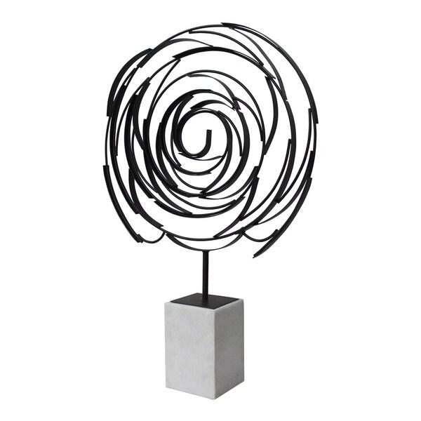 Aurelle Home Allison Contemporary Sculpture