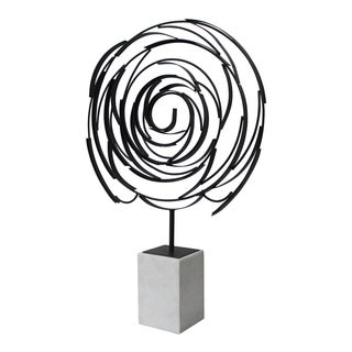 Aurelle Home Allison Contemporary Sculpture
