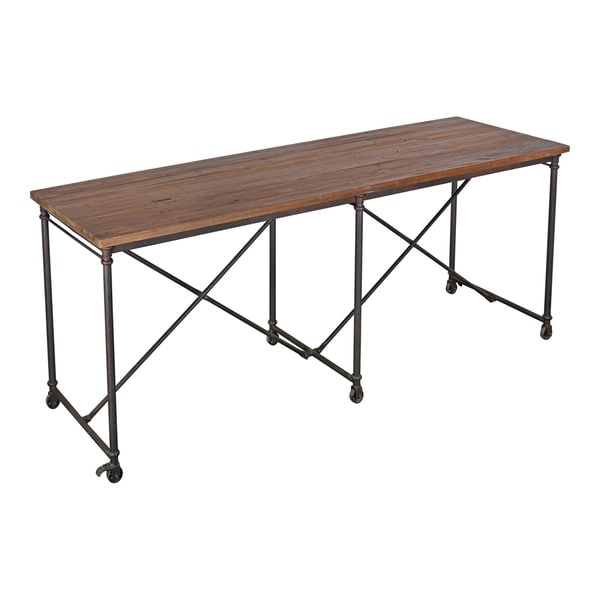 Aurelle Home Reclaimed Industrial Counter Table