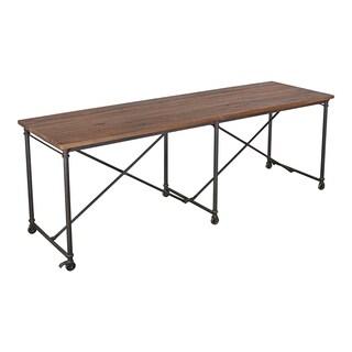 Aurelle Home Reclaimed Industrial Bar Table