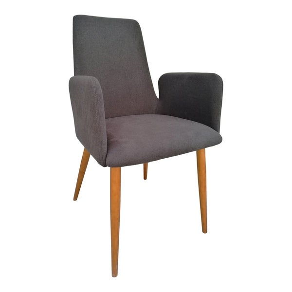 Shop Aurelle Home Contemporary Upholstered Glam Dining