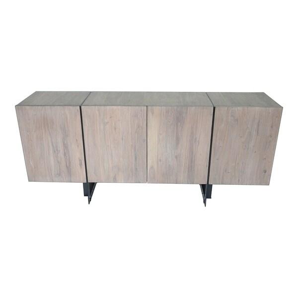 Aurelle Home Tinett Large Modern Storage Sideboard