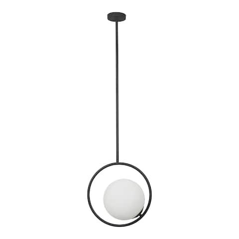 Aurelle Home Designer Modern Floating Pendant Lamp - N/A