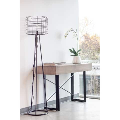Aurelle Home Industrial Style Floor Lamp