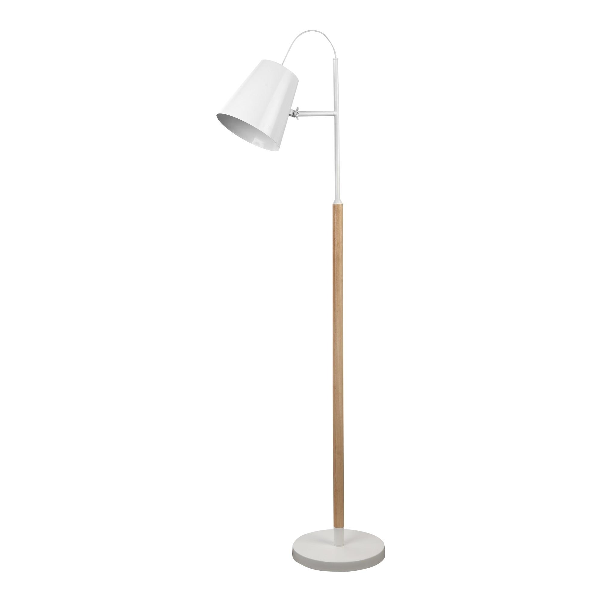 Aurelle Home Mid Century Floor Lamp