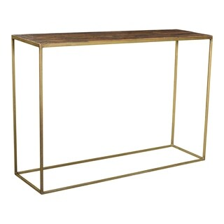 Aurelle Home Reclaimed Industrial Console Table