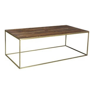 Aurelle Home Reclaimed Industrial Coffee Table