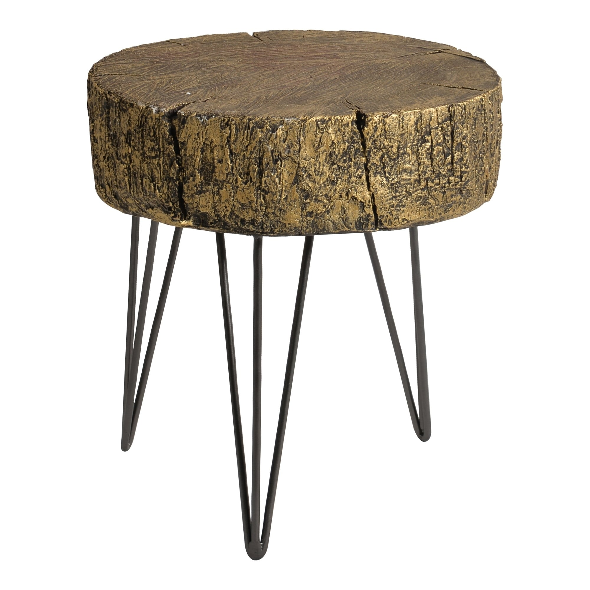 - Shop Aurelle Home Metalic Glam Contemporary Accent Table - On Sale