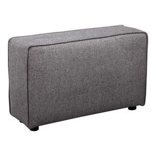 "Aurelle Home Riffle Modern Upholstered Modular Arm - 12"" x 36"" x 22"""