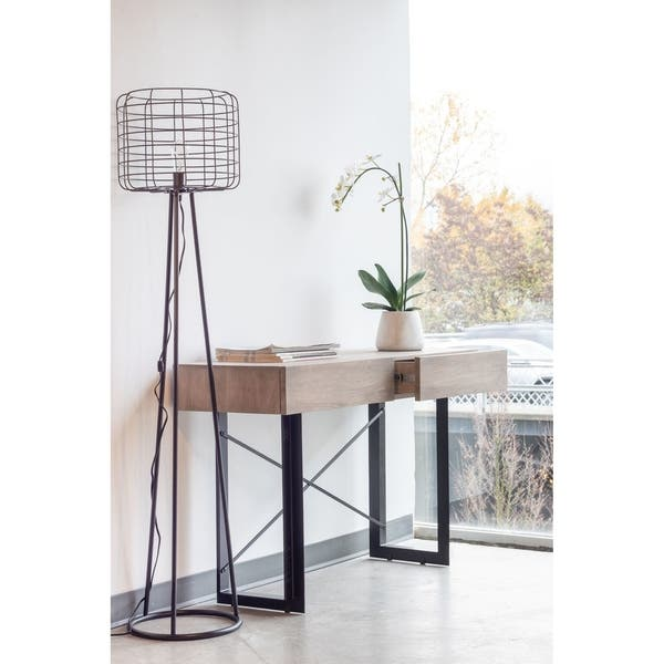 Awesome Shop Aurelle Home Hampton Grey Storage Console Table On Pdpeps Interior Chair Design Pdpepsorg