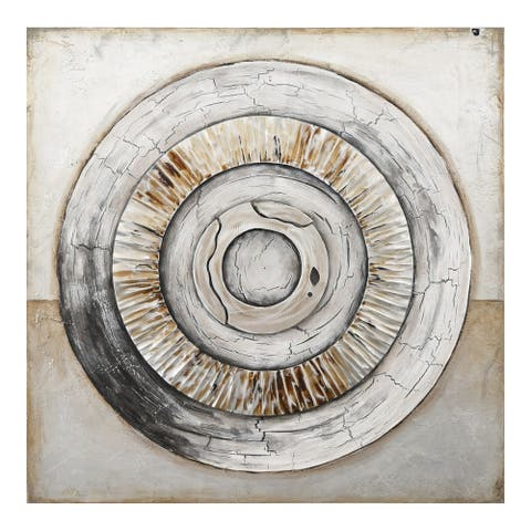 Aurelle Home Circular Transitional Wall Decor