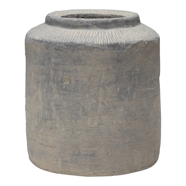 Aurelle Home Rustic Cement Planter