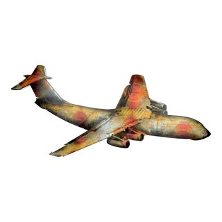 Aurelle Home Two Dimensional Airliner Wall Decor