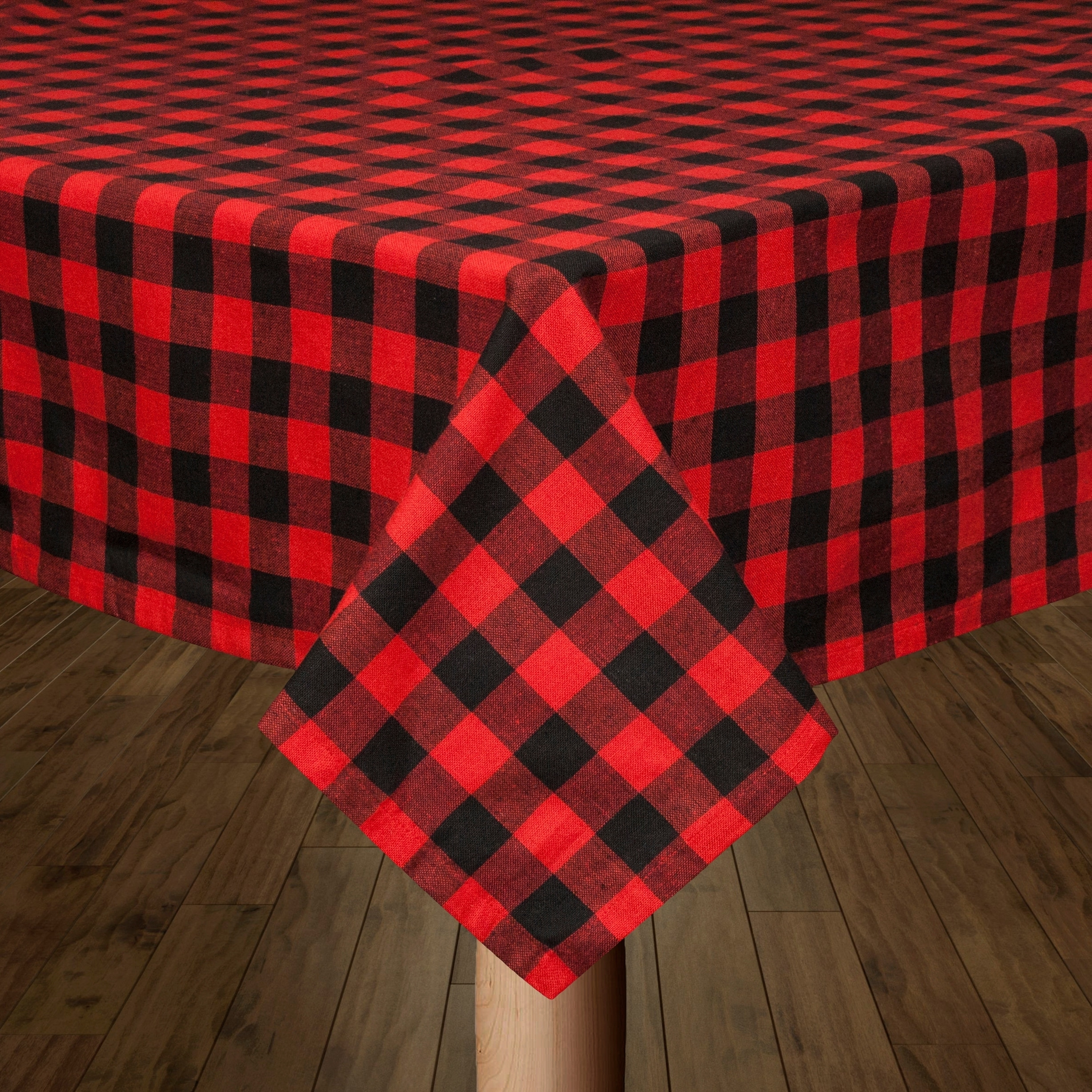 Buffalo Check Red And Black Tablecloth On Free Shipping Orders Over 45 24121414