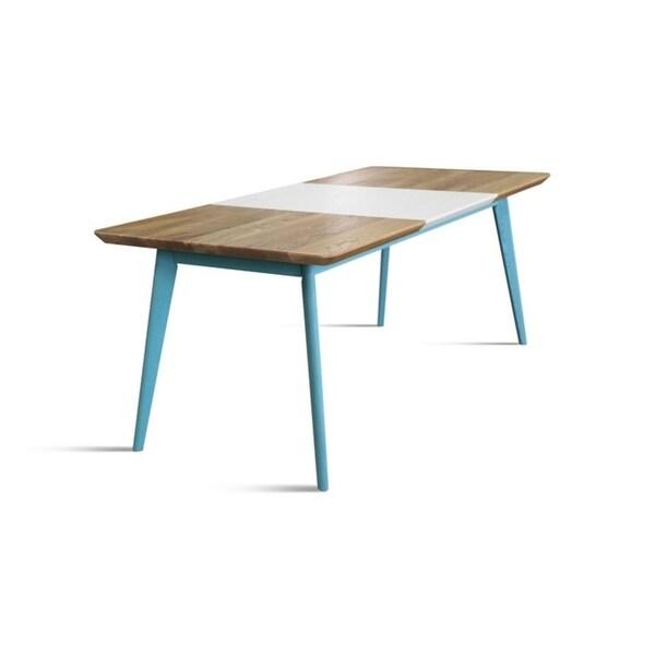 NORDIK Dining Table - Blue/Beige