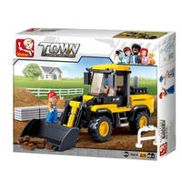 Sluban Construction Forklift Truck (214 Pcs) B0538