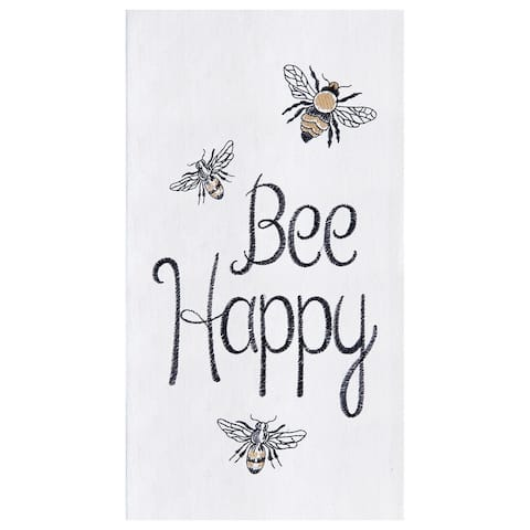 Bee Happy Towel Set of 2