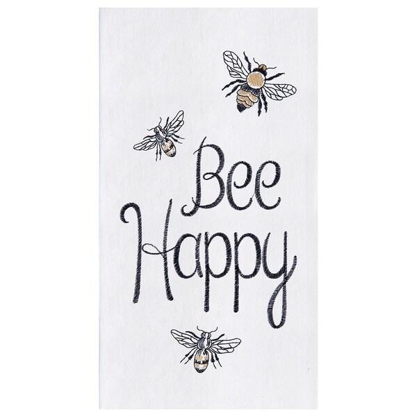 Bee Happy Towel Set of 2