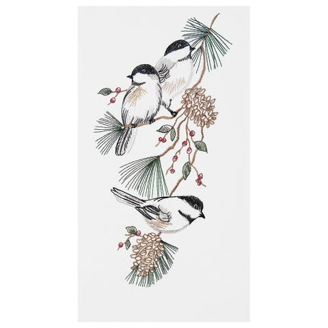 Chickadees Towel Set of 2