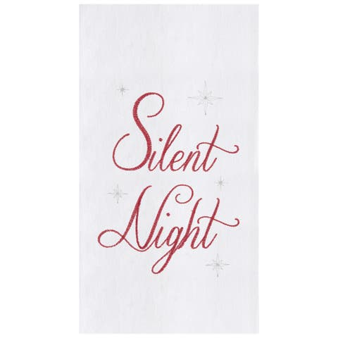 Silent Night Towel Set of 2