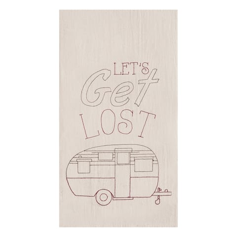 Let's Get Lost Towel Set of 2