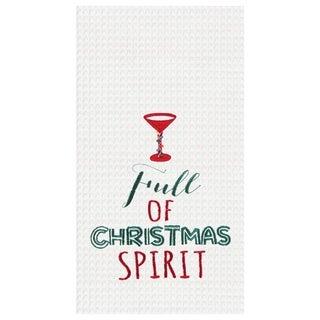 Full Of Christmas Spirit Towel Set of 2