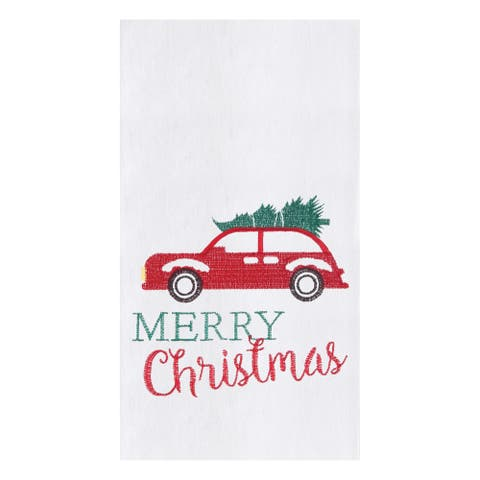 Holiday Car Towel Set of 2