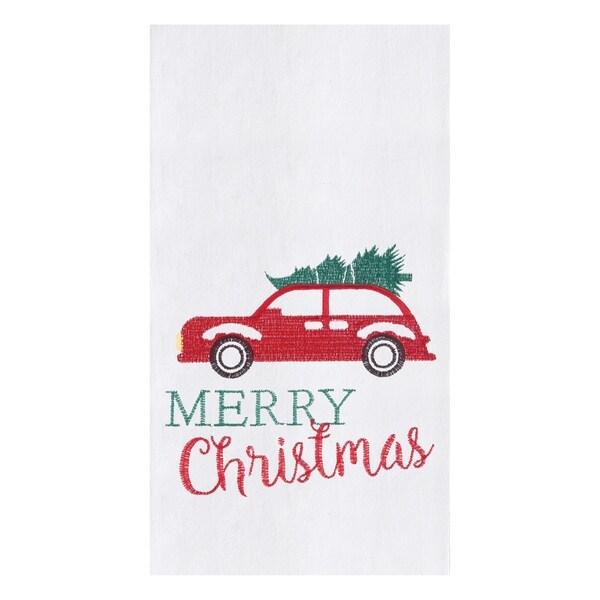 Holiday Car Towel Set of 2