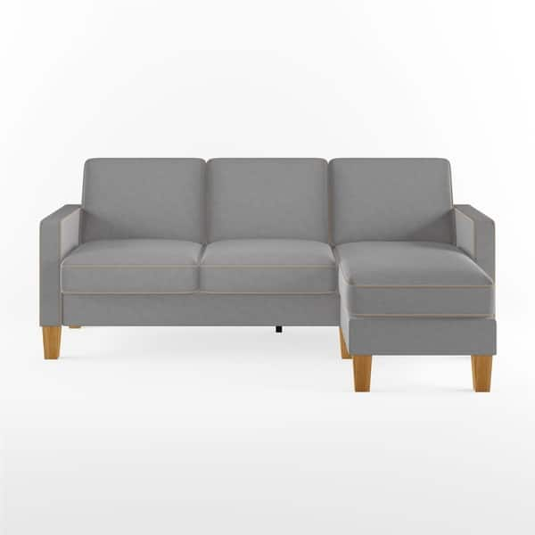 Swell Shop Novogratz Bowen Sectional Sofa With Contrast Welting Gmtry Best Dining Table And Chair Ideas Images Gmtryco