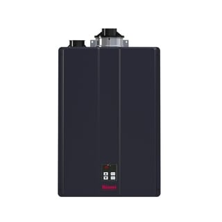 Rinnai Hybrid and Tankless Solution (Int Com CTWH 160k Btu 9gpm max w/Valve) CU160iN Charcoal
