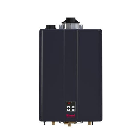 Rinnai CU160iP Indoor Liquid Propane 160,000 BTU 9 GPM Commercial Tankless Water Heater