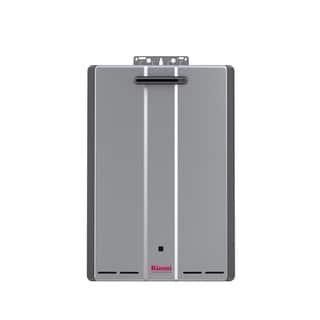Rinnai Tankless Water Heater (Ext CTWH 160k Btu 9gpm max pump valve) RUR160eN Silver