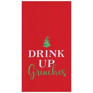 Drink Up Grinches Towel Set of 2
