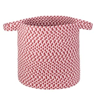 "Kool Kids Braided Laundry Basket - Fruit Punch 16""x16""x20"""