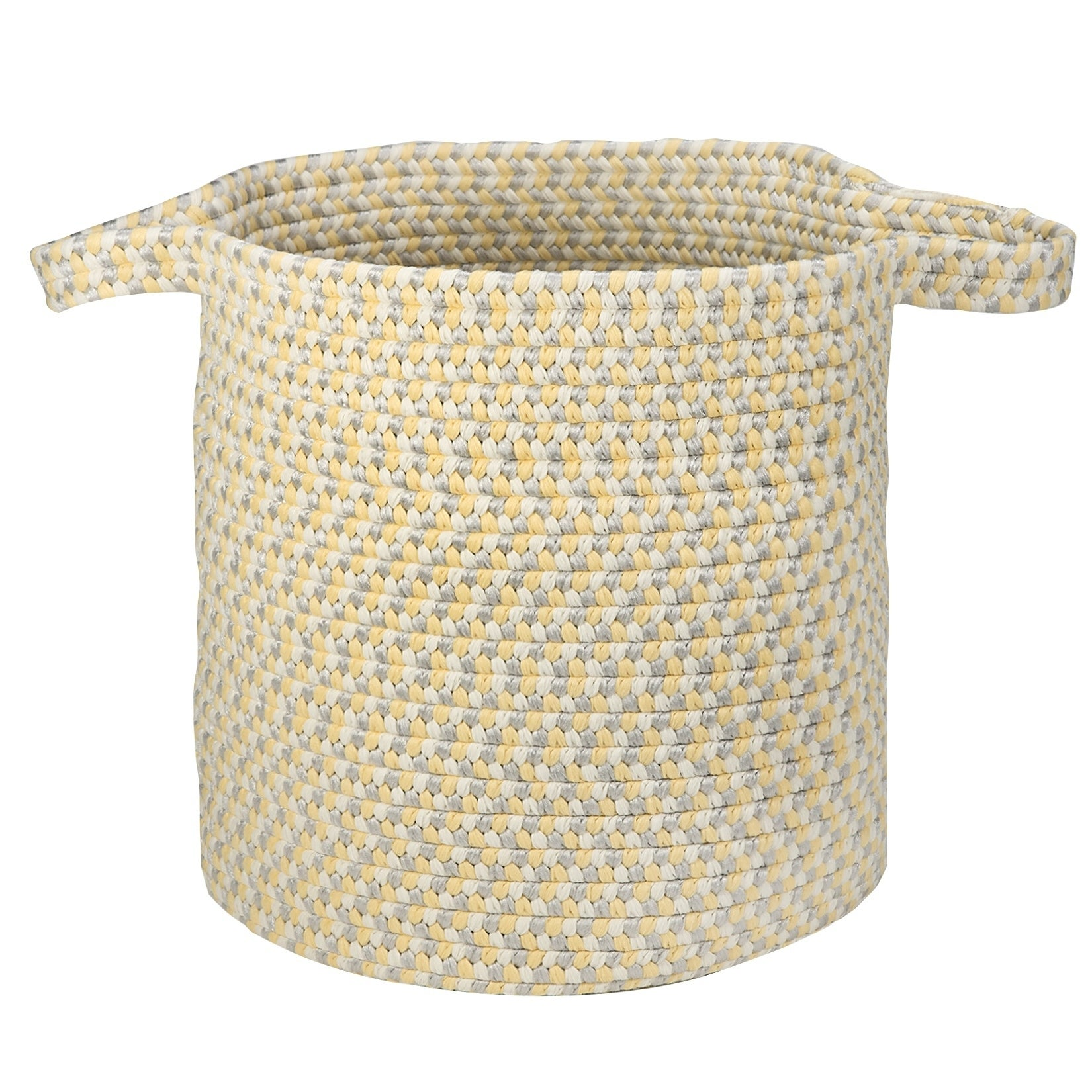kool kids braided laundry basket raw honey