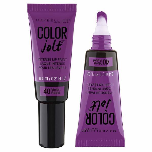 Maybelline Lip Studio Color Jolt Intense Lip Paint Violet Rebel. Opens flyout.
