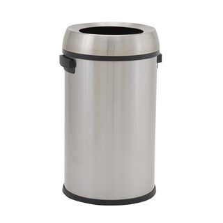 65L Tahoe Stainless Steel Commercial Bin with Open Lid