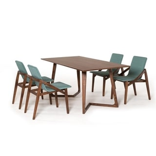 Modrest Jett Mid-Century Walnut Dining Table