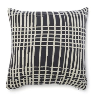 Cottage Home Sawyer Striped Cotton 20 Inch Throw Pillow