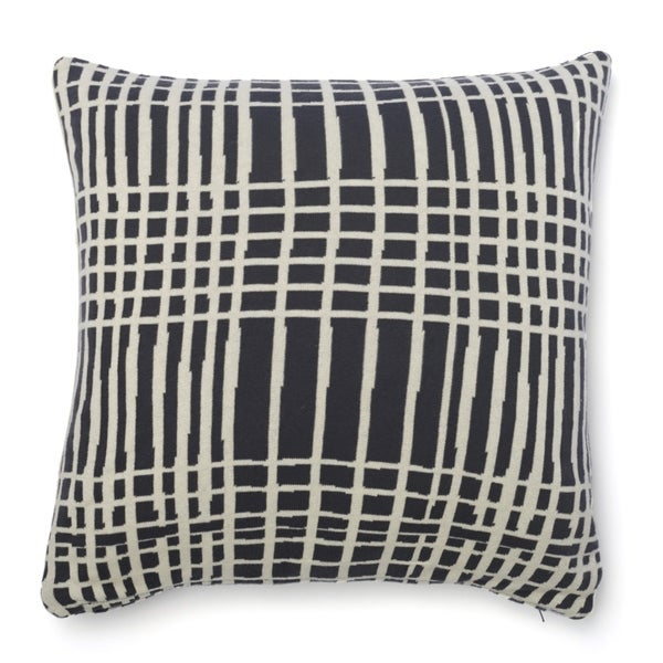 Cottage Home Sawyer Striped Cotton 20 Inch Throw Pillow. Opens flyout.