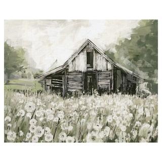 Masterpiece Art Gallery Dandelion Barn By Studio Arts Canvas Art Print