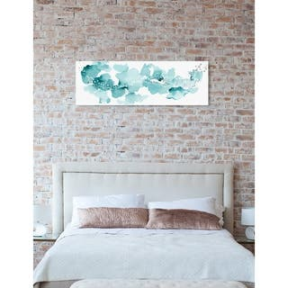 Oliver Gal 'Beautiful Aqua Sky' Abstract Wall Art Canvas Print - Blue, White