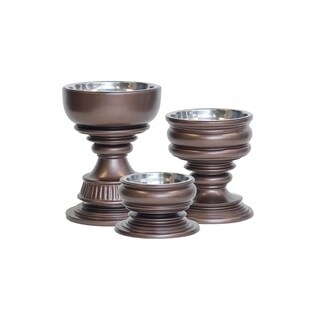 Unleashed Life Siam Collection Raised, Weighted Pet Feeders