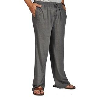 Max Deco Mens Pajama Lounge Sleep Pants Cotton Sleepwear Drawstring Charcoal