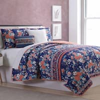 Amrapur Overseas Gifford 5-Piece Reversible Quilted Coverlet Set